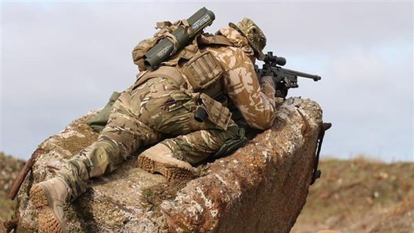 Un membre de la force spéciale britannique en Syrie