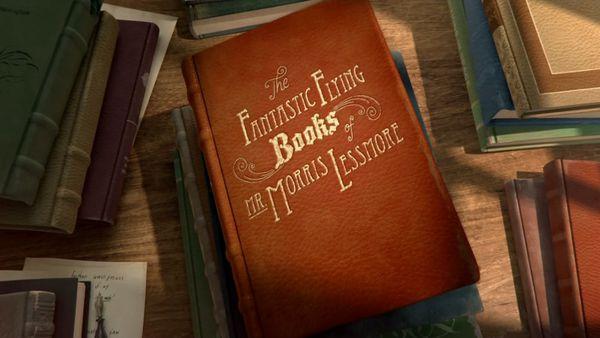 Les Fantastiques livres volants de M. Morris Lessmore - William Joyce & Brandon Oldenburg