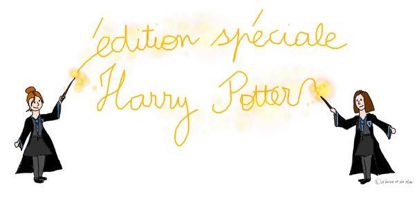 Binôme : Harry Potter - JK Rowling. Et les films.