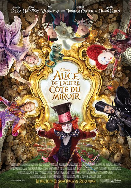 Alice de l'autre côté de miroir - James Bobin