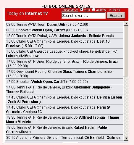 Futbol de todo el mundo GRATIS como ver futbol gratis