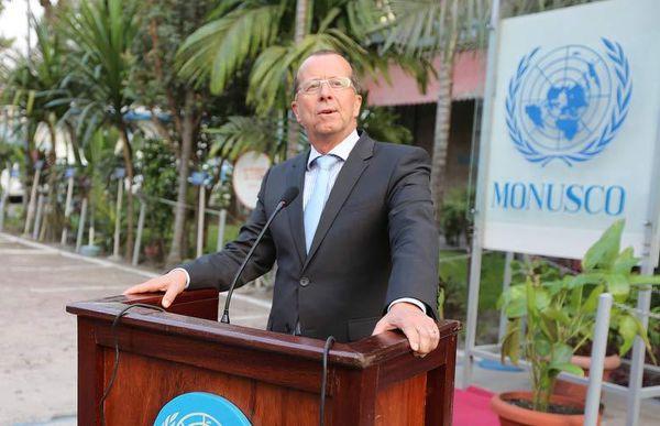 Le Représentant spécial du Secrétaire général pour la République démocratique du Congo (RDC), Martin Kobler. Photo MONUSCO/Myriam Asmani