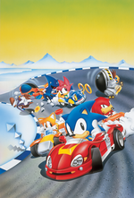 sonic drift cover