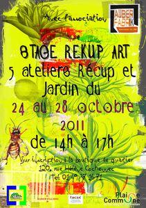 affiche stage rekupw