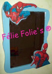 miroir spiderman pour mon fils