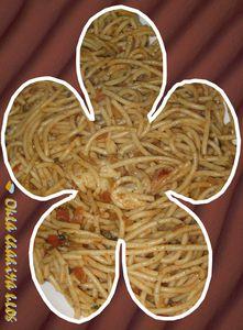 spaghettis à la p