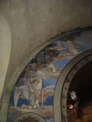 DSC04192 Restauration de l'arc triomphal de l'église de Seuzey