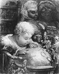 Gustave Doré. L'Éducation de Gargantua