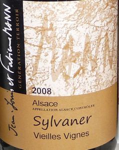 Sylvaner VV 2008 JM et Fab Mann