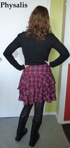 jupe rose et noir 2