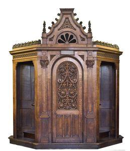 visite mobilier nef confessionnal
