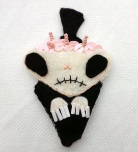 Zombie Felties Undertaker