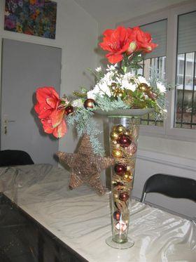 Le Cours De Dco Florale Dcoration De Nol Le Blog De
