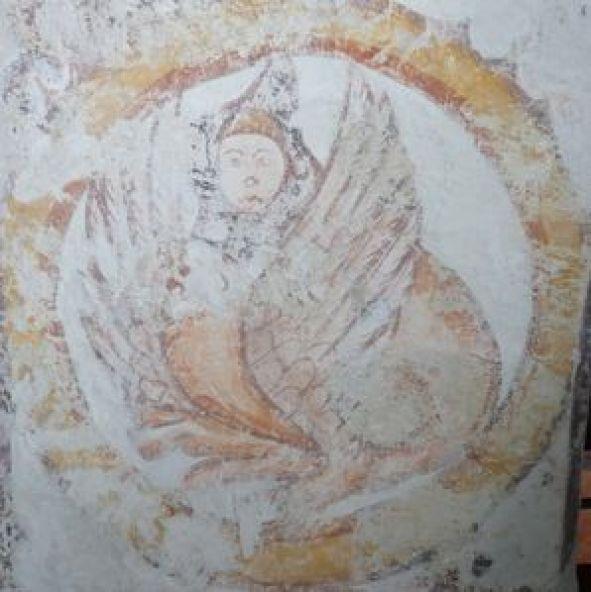 P1070552 Restauration de peintures murales