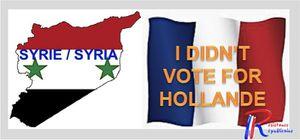 Pas voté Hollande anglais