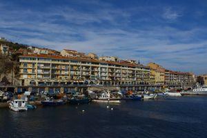 Sète façade du port PL 16mars14