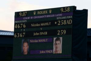 score 58 59 mahut isner