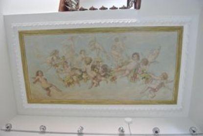 DSC_1179 Maison Mousset: restauration de peintures murales