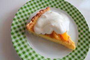 ballindalloch orange tarte - mit drambuie-sahne