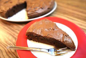 double choco cake