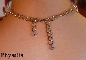 collier perles bleues et alu2