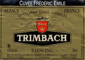 TRIMBACH FREDERIC EMILE TRIMBACH TRIMBACH