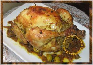 poulet et vermicelles