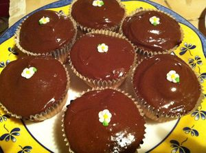 cupcakes citron chocolat
