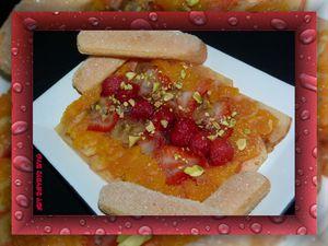 tartare fruits