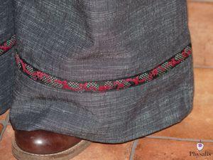 pantalon lacet 8