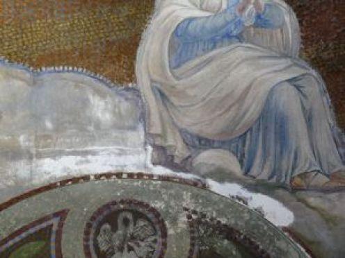 P1120165 Restauration des peintures murales du choeur de l'église de Seuzey