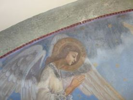 P1120772 Restauration de l'arc triomphal de l'église de Seuzey