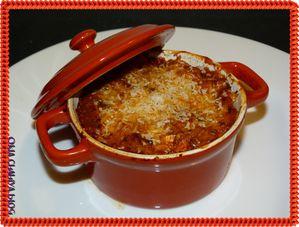 pates aux aubergines et fromage
