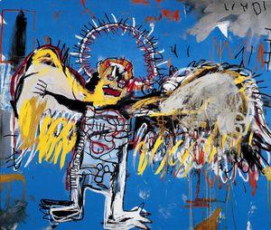 18 Basquiat Untitled (Fallen Angel), 1981 (Fondation d'Entr