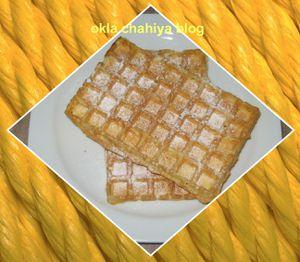 gaufres à la crème fraôche