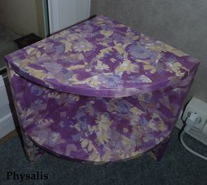 table nuit coin