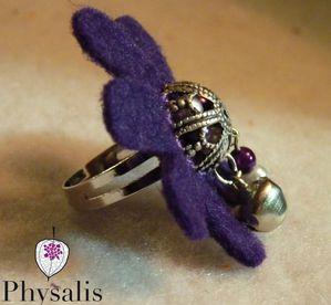 bague feutrine violette 2