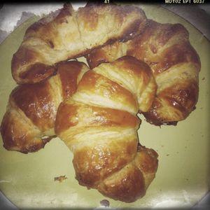recette croissants levain pain chocolat