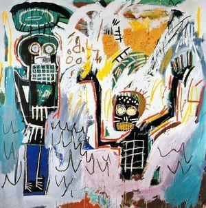 17 Basquiat 82 Baptême Coll Mr & Mrs John Martin Shea