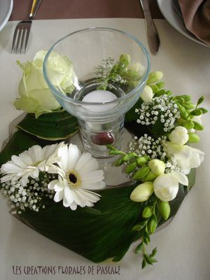 Beautiful With Bougie Centre De Table Mariage