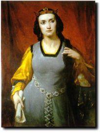 En 1829, Alfred de Vigny, poète renommé, et Marie Dorval, comédienne vedette du théâtre romantique, se rencontrent. L'été 1831, alors que la seconde doit jouer la pièce du premier, La Maréchale d'Ancre, ils deviennent amants. Le poète installe sa muse dans un appartement de la rue Montaigne, où ils se retrouvent avec passion. Peu à peu, celle-ci s'éteindra, mais les amants restent attachés l'un à l'autre. En 1838, après de violentes disputes, ils se séparent. Vigny est extrêmement jaloux, au point de faire suivre sa