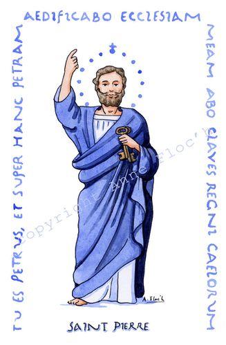 """Résultat de recherche d'images pour """"illustration de saint pierre"""""""