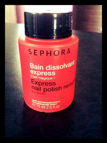 Bain dissolvant Sephora
