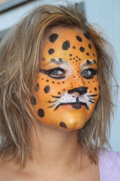 maquillage puma jaguar tigre panthère lion féline3