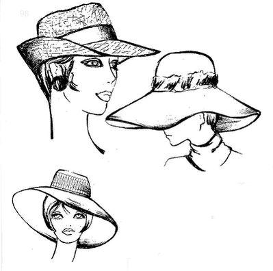 Come Fare Cappelli Cappello Donna Anni 70 Costume E Societa