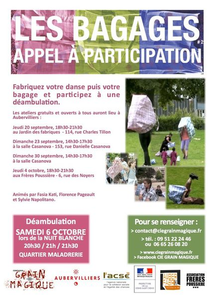 AFFICHE Lesbagages NuitB