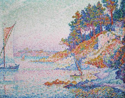 Signac - La Calanque-light