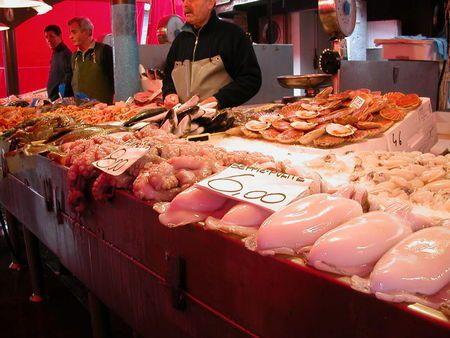 Betterave de Chioggia au marché de Venise ; étape incontournable des gourmands 3