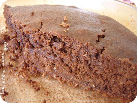Gâteau chocolat noix de coco