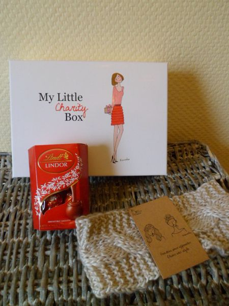 goodies my little charity box